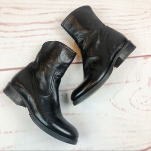 Fiorentini + Baker | Leather Ankle Boots, Size 5